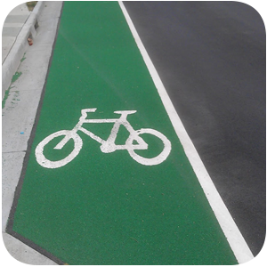 Cycleways and shared paths