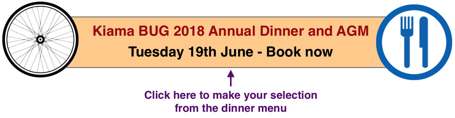 2018 Dinner and AGM