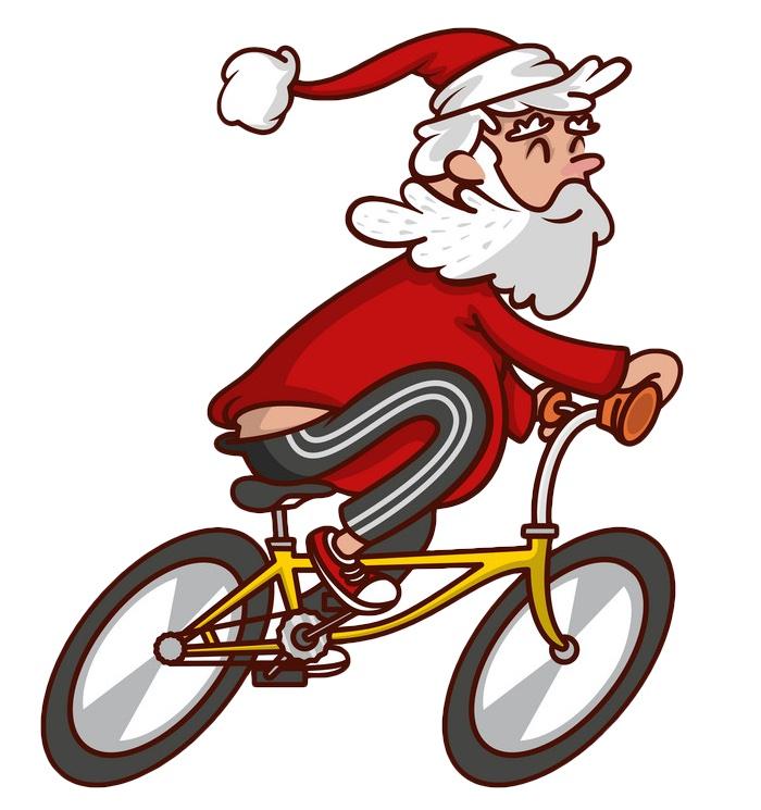 Santa Cycling